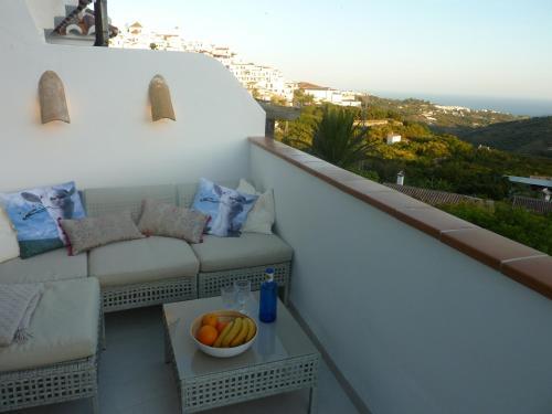 A balcony or terrace at Apartment Joaquin