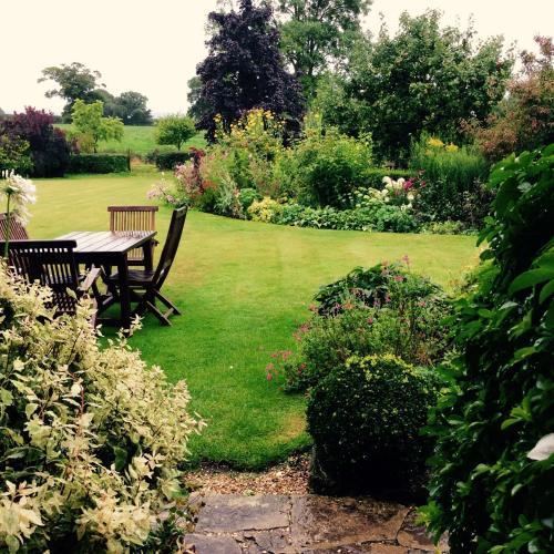 A garden outside Moors Farmhouse