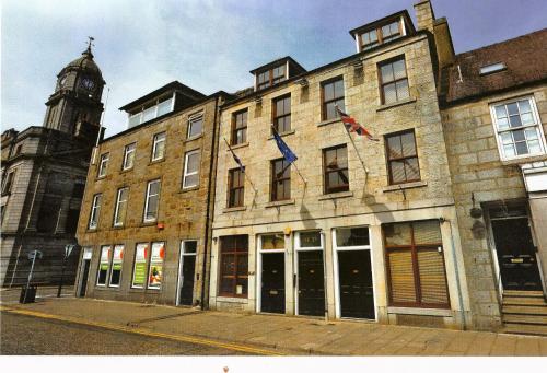 The facade or entrance of Regent Quay Apartment