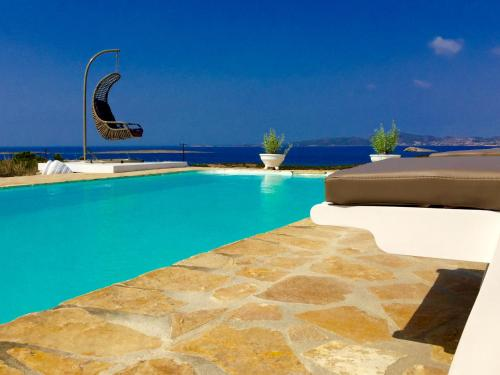 The swimming pool at or close to Paros Afrodite Luxury Villas