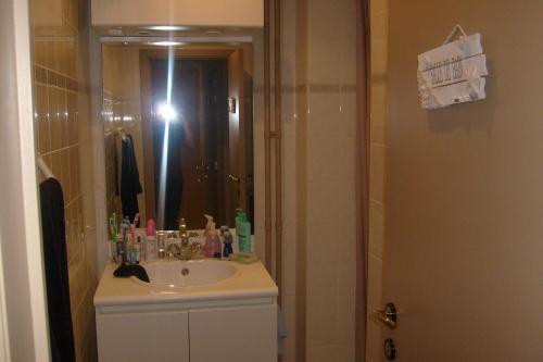 Salle de bains dans l'établissement Appartement Knokke Zoute