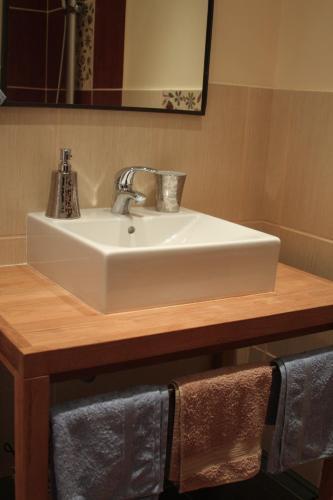 Salle de bains dans l'établissement La Pergola du Sourire