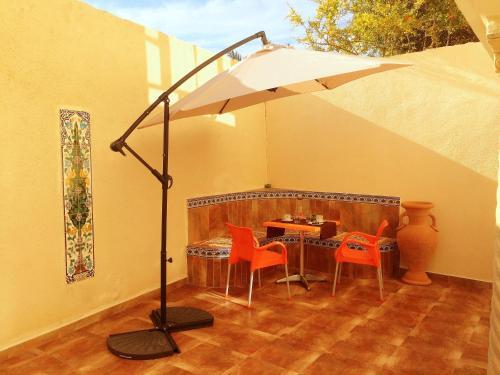 Ein Restaurant oder anderes Speiselokal in der Unterkunft Apart Mahdia
