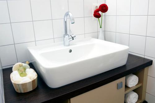 A bathroom at Apartmenthotel Quartier M