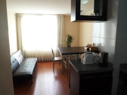 Zona de estar de Apartments Bellas Artes