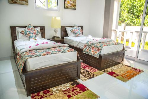 A room at Island Charm Of Praslin