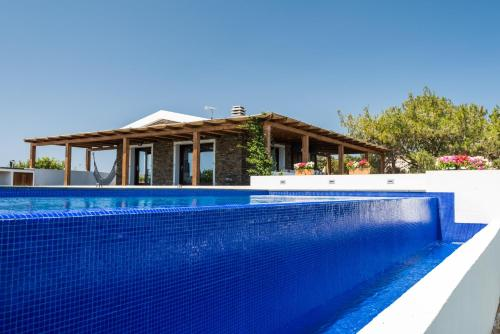 The swimming pool at or near Villa Altxor