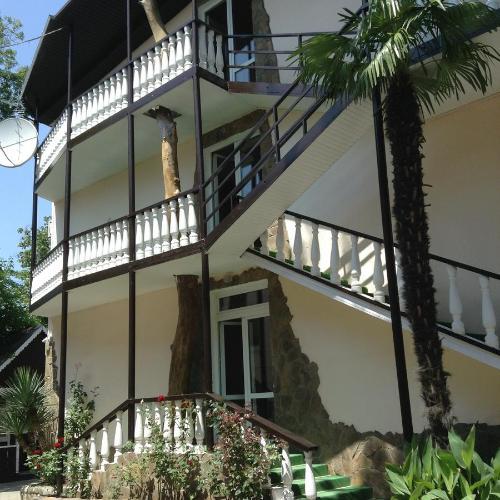 Балкон или терраса в База Отдыха Солнечный Берег