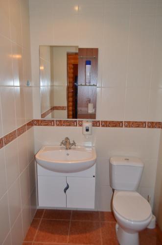 Ванная комната в Hostel WWW