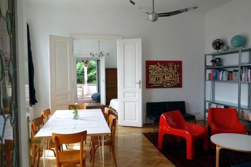 Lounge oder Bar in der Unterkunft Katharinas Apartment