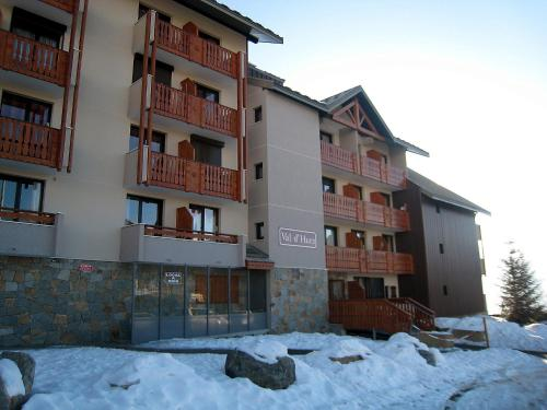 Apartment Val d'Huez during the winter