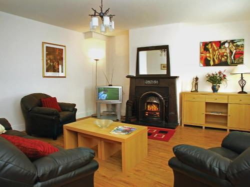 The lounge or bar area at Holiday Home Ballyhass Lakes.1