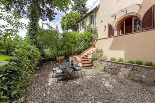 A porch or other outdoor area at Monteripaldi Borgo House