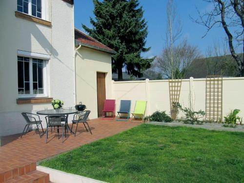 Terrasse ou espace extérieur de l'établissement Gîte La Bertinière à 15km d'Honfleur