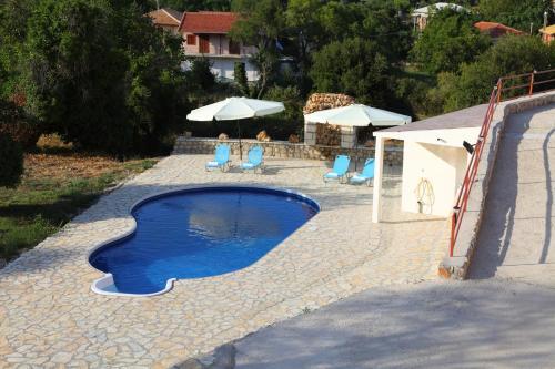 The swimming pool at or near Premedinos inn