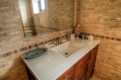 A bathroom at Vivenda do Barreiro