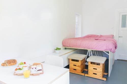 Cama o camas de una habitación en Innkt