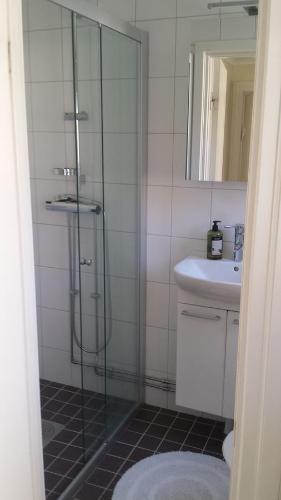 Kupatilo u objektu Lilla Munkhagen