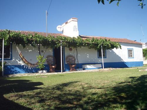 Um pátio ou outra área exterior em Casa da Piscina