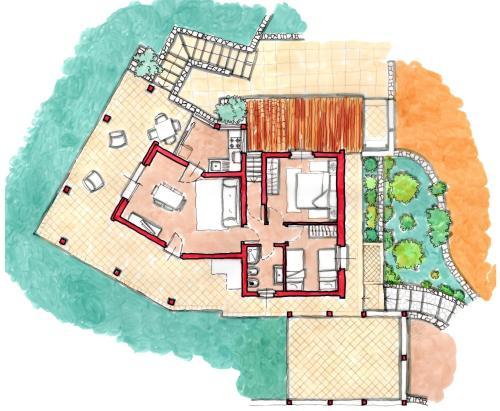The floor plan of Tiria Is Molas