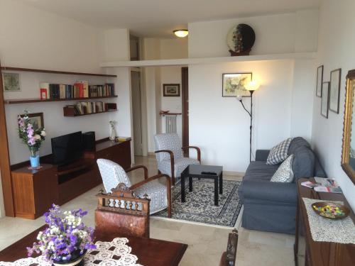 The lounge or bar area at Casa Carozzi - Carozzi Apartments