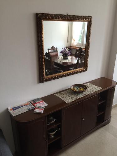 Coffee and tea-making facilities at Casa Carozzi - Carozzi Apartments