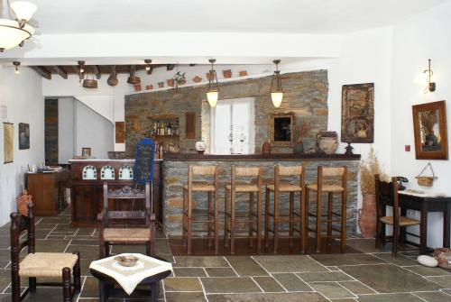 The lounge or bar area at Fassolou