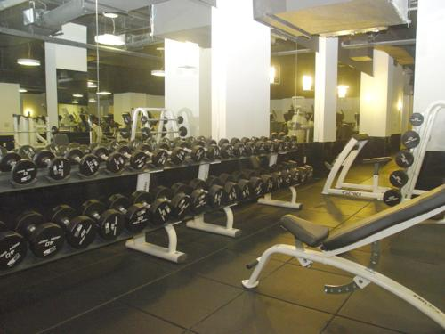 The fitness center and/or fitness facilities at Chelsea Amazing Apartment on 30th Street