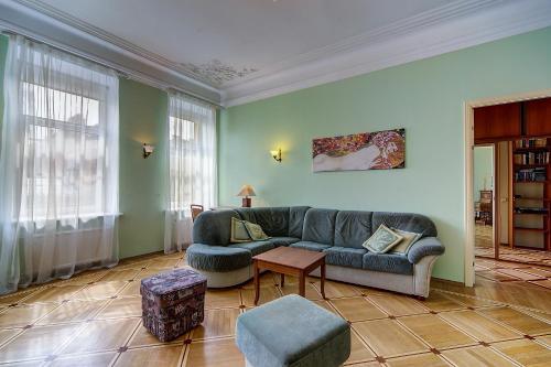Лаундж или бар в Apartments na Sovetskaya