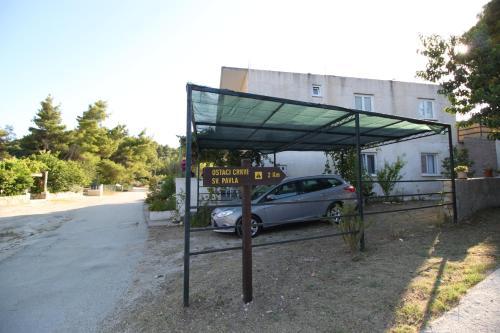 A porch or other outdoor area at Brzica Saplunara