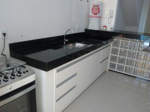 A kitchen or kitchenette at Apartamento Telégrafo