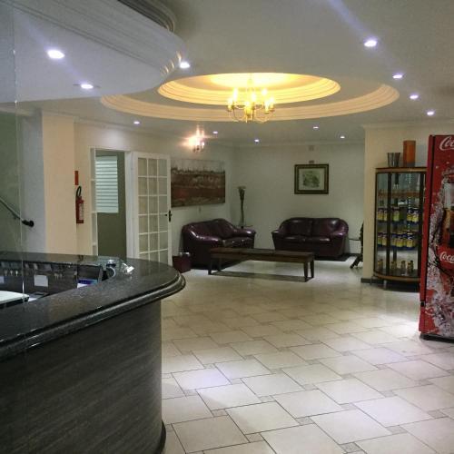 O saguão ou recepção de Smart Hotel