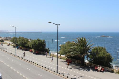 Balcone o terrazza di OceanView Oporto Foz
