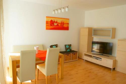 TV/Unterhaltungsangebot in der Unterkunft Gemütliche Wohnung in der City - Augsburg Göggingen