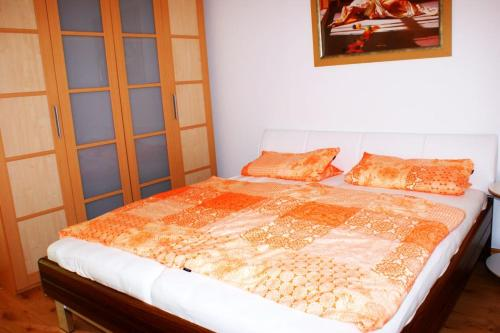 Ein Zimmer in der Unterkunft Gemütliche Wohnung in der City - Augsburg Göggingen