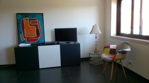 A television and/or entertainment center at Artway