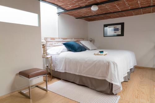 A room at Casa Moctezuma