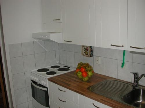 A kitchen or kitchenette at Villa Lokki