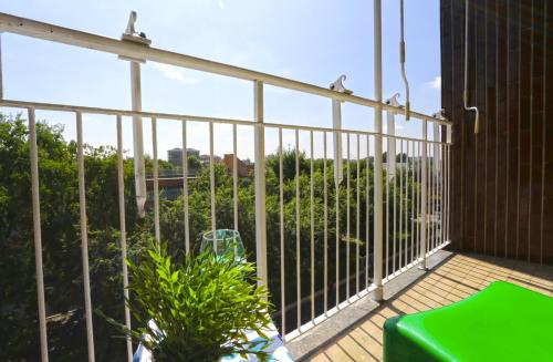 A balcony or terrace at De Andreis Studio