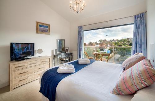 A room at South Sands Beach House