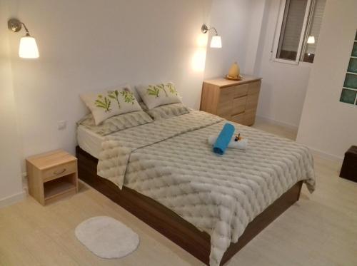 Una habitación en Apartment on Carrer del Dr. Lluch