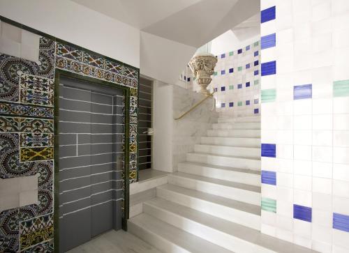 The lobby or reception area at Apartamentos Alemanes Gradas Luxury