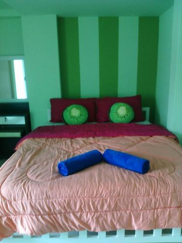 A bed or beds in a room at GH Hostel Ramkhamhaeng