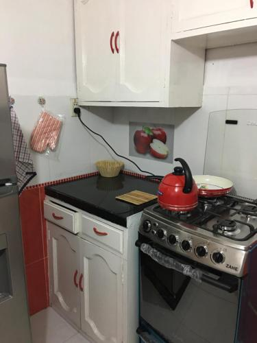 Una cocina o zona de cocina en A la Altura de tus Sueños