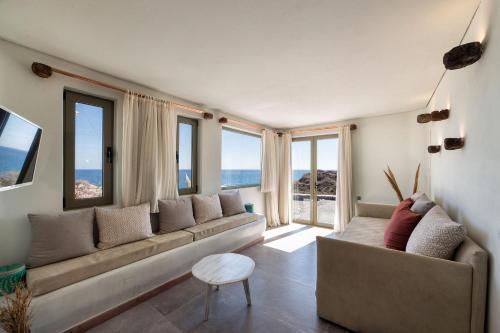 A seating area at Casa di Mare