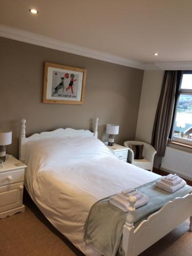 Cama o camas de una habitación en Mooredge B&B