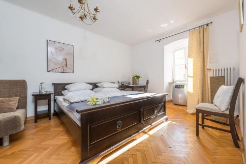 Lova arba lovos apgyvendinimo įstaigoje P&O Podwale Apartments