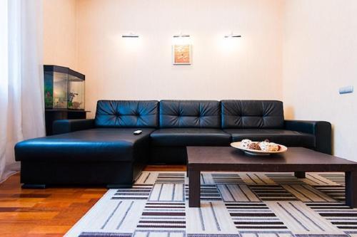Гостиная зона в FlatComfort Nezavisimosti 44