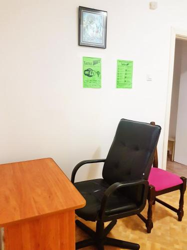 A seating area at Hostel Uyt in Kursk