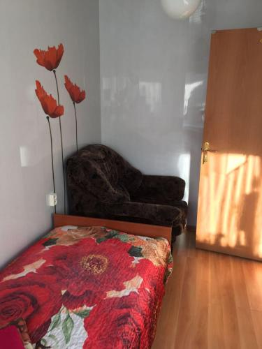 A bed or beds in a room at Hostel Tip-Top